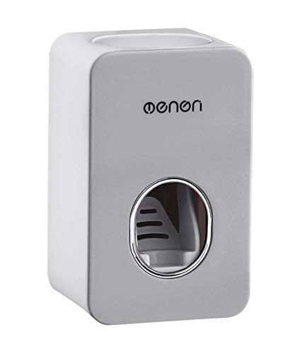 MHTECH automática exprimidor de Pasta de Dientes, dispensador de Pasta de Dientes automático, Automatic Tooth Paste Dispenser Holder, Pared Bathroom Accessories (11x7x6cm)