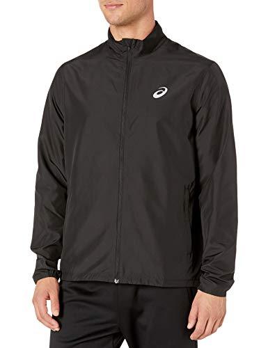 ASICS Men's Silver Jacket, Performance Black, X-Large