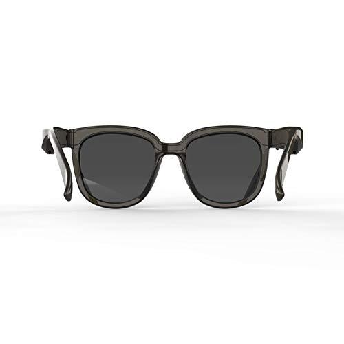 crazerop Smart Sonnenbrillen Bluetooth Brille, Intelligent Bone Conduction Kopfhörer Spionagebrille Audio Brille Smart Glasses