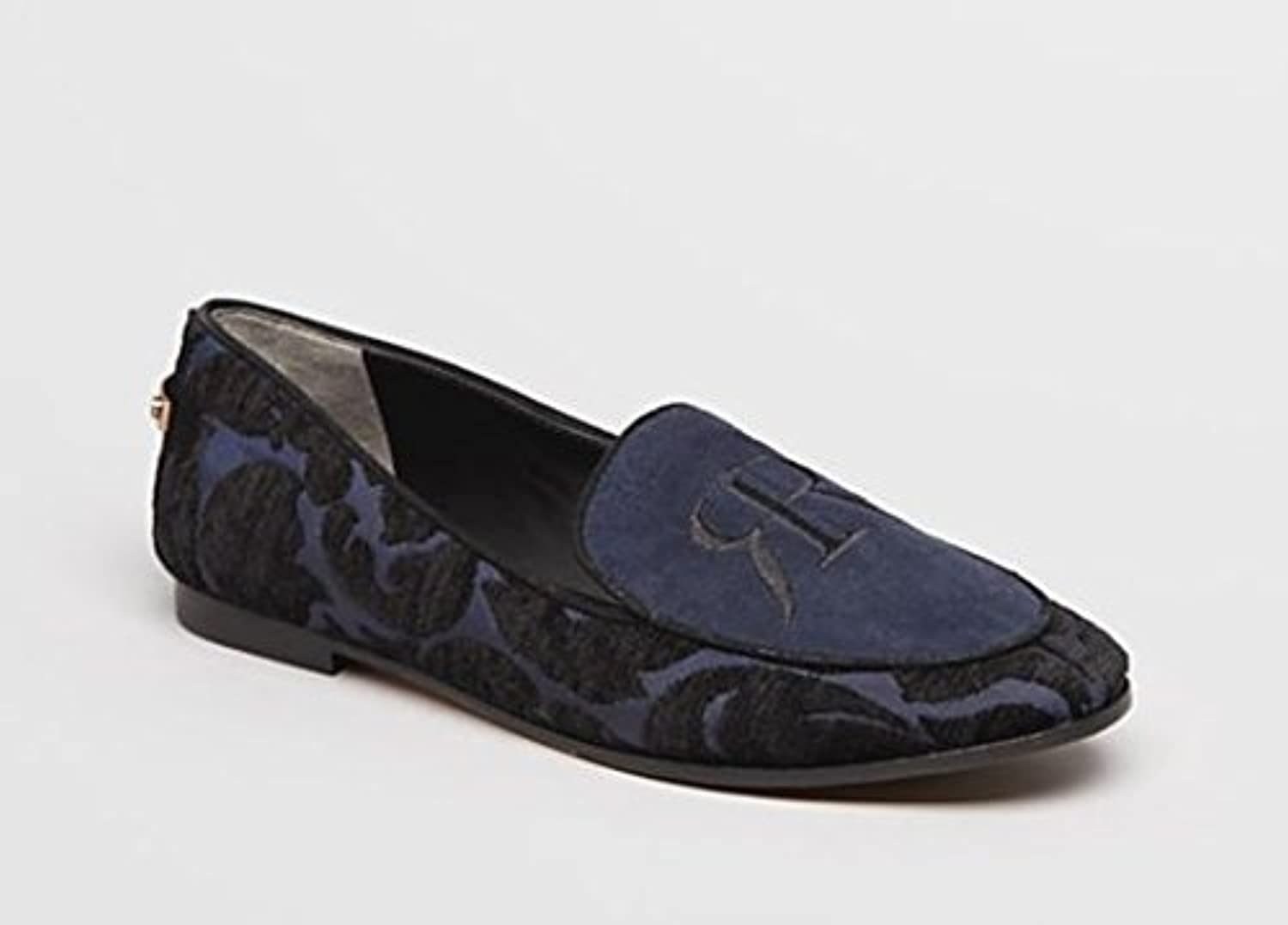 Rachel Roy Gracie Smoking Flat Black Navy Women's 8 M US