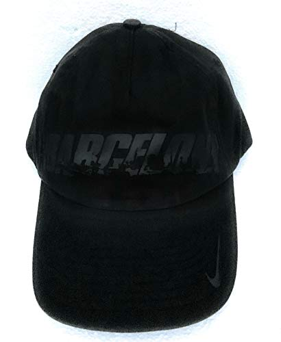 Nike Limited Edition Erwachsene Unisex Barcelona Baseball Cap 572725 014 schwarz