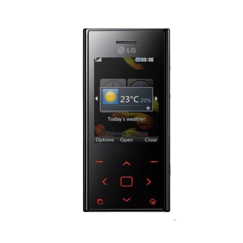 LG BL20 New Chocolate - Teléfono Móvil Libre - Rojo