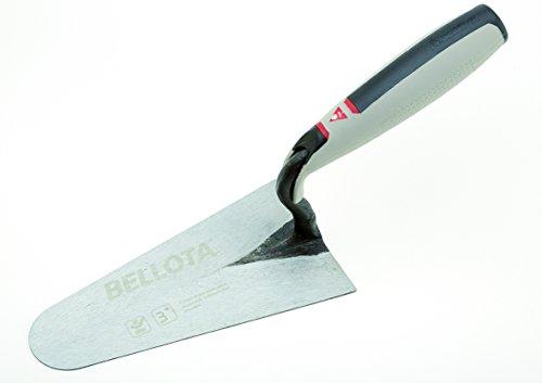 Bellota 5919-14 CC BIM Paleta forjada Belga para enlucir mango bimaterial, 140x82 mm