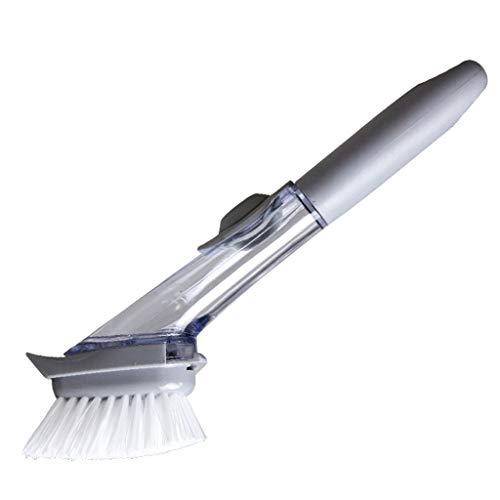 Reinigingsborstel Reinigingsgereedschap Keuken huishoudelijke afwasmiddel lange handgreep reinigingsdoekje Vaatwasser vloeistof automatisch toevoegen pot borstel Praktisch
