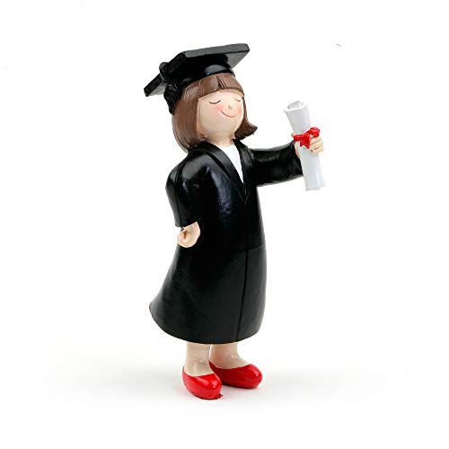 Muñeco o figura para la tarta de graduación chica graduado. Original figura para la tarta o para recuerdo de un día tan especial de la graduación de tu hija