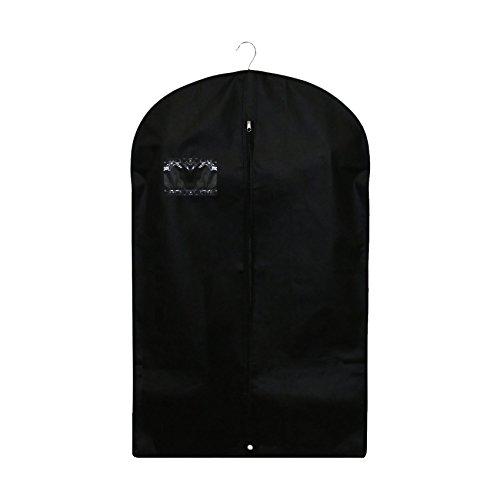 Plain Black Durable Lightweight Suit Bag