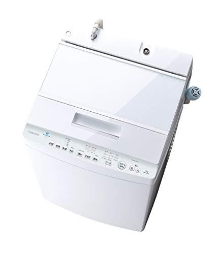 東芝 7.0kg 全自動洗濯機 グランホワイトTOSHIBA ZABOON AW-7D9-W