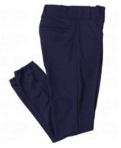 TMMG Youth Nylon Baseball Pant Elastic Hem - Navy (Youth Large)