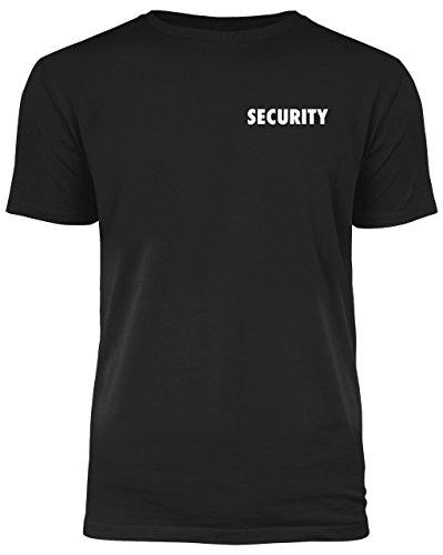 Security T-Shirt - beidseitig Bedruckt - für jeden Einsatz geeignet (XL)