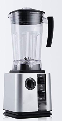 SYLOZ-URG Blender Ice Blender Professher Blender, encimera Blender 1500w, Blender de alta potencia con alta velocidad, for el hielo de arruga, Peginaje congelado, Sopa SYLOZ-URG (Color : Silver)