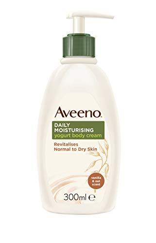 Aveeno Daily Moisturising Yogurt Body Cream, Vanilla, 300 millilitre
