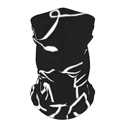 Dibujos animados dibujados Gatos Ratas Animales Vida silvestre Animal Verano Seda de hielo Transpirable Mascarilla Cuello Polaina Bufanda Bandanas para pesca,senderismo,correr,motocicleta y uso diario