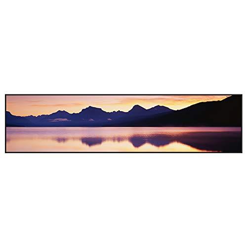 WSNDGWS Chinese Inkt Landschap Banner Home Slaapkamer Woonkamer Decoratie Schilderen Zonder Beeld Frame 50x100cm A3