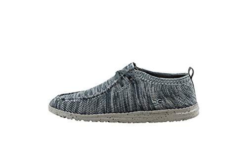 Dude Shoes Wally Uomini Lavorare Un Pezzo Maglia Grigio di Multi UK12 / EU46