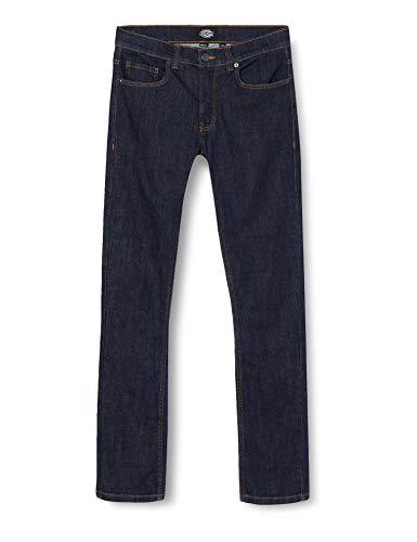 Dickies Herren Slim Slim Jeans 01 230035, Blau (Rinsed Rin), W32/L32