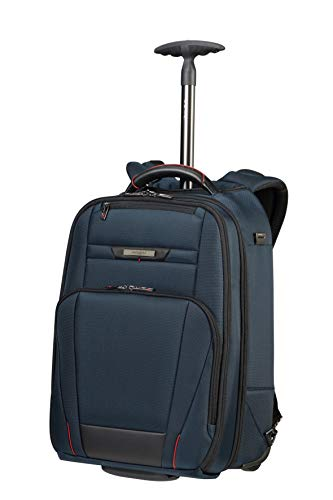 Samsonite Pro-DLX 5-17.3 Pulgadas Mochila para Portátil con Ruedas, 48 cm, 28 L, Azul (Oxford Blue)