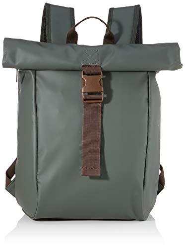 BREE Collection Unisex-Erwachsene Pnch 92, Backpack S Rucksack, Grün (Climbing Ivy), 12x42x36 cm