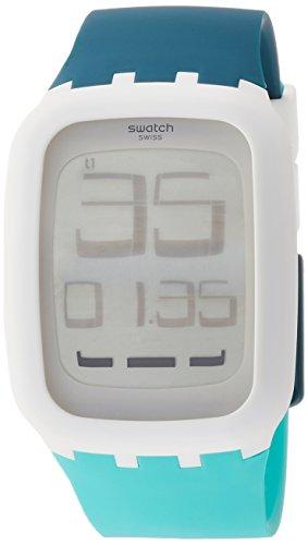 Swatch Reloj Hombre de Digital con Correa en Silicona SURW115