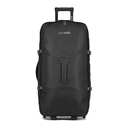 PacSafe Venturesafe EXP34 106L Anti Theft Wheeled Luggage, Black