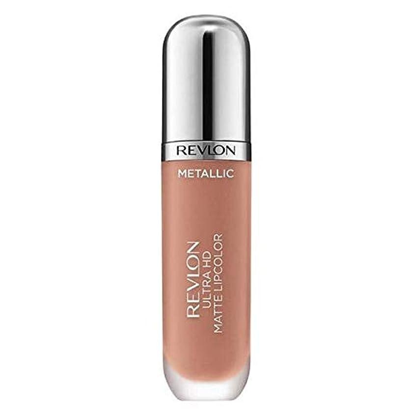 試してみる弁護船外[Revlon ] レブロンウルトラHdマットメタリックリップグロー - Revlon Ultra HD Matte Metallic Lip Glow [並行輸入品]