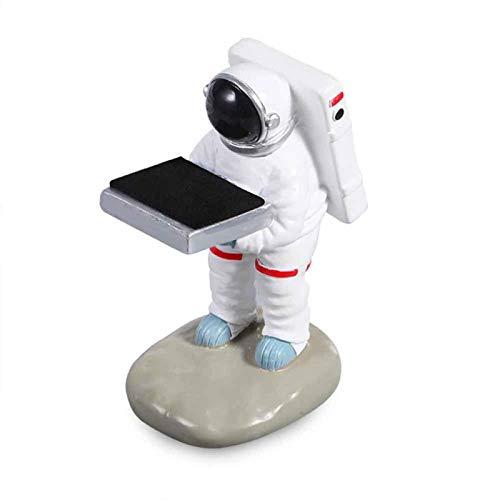 SUNERLORY Soporte de exhibición de reloj, resina astronauta o antiguo ama de llaves cajas de almacenamiento para joyas, estante de almacenamiento para organizador de relojes de pulsera( tipo 2)