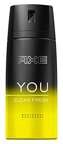 Axe Deospray You Clean Fresh ohne Aluminiumsalze, 6er Pack (6 x 150 ml)