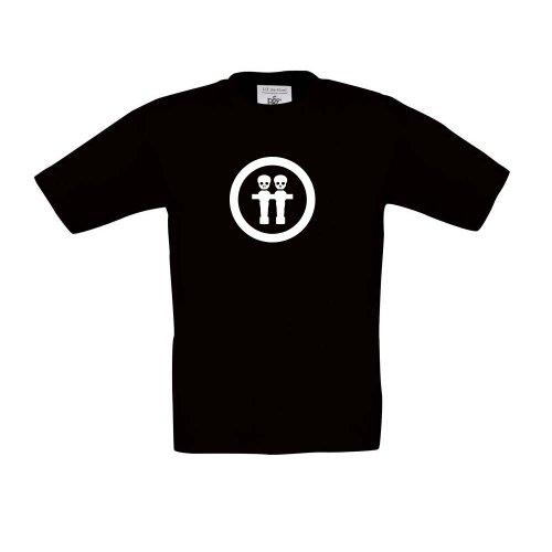 Tavolo calcio balilla Skull, T-shirt per bambini, Unisex
