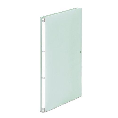 プラス フラットファイル A4縦 2穴 背幅伸縮セノバスEX PP 89-097 グレー