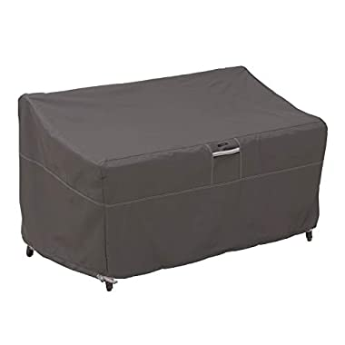 Classic Accessories Ravenna Water-Resistant 58 Inch Patio Sofa/Loveseat Cover