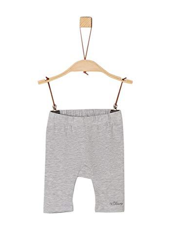 s.Oliver Baby-Mädchen 59.906.75.5015 Shorts, Grau (Grey Melange 9400), (Herstellergröße: 80/REG)