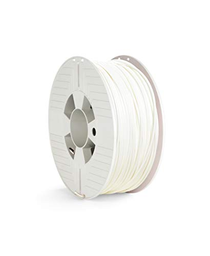 Verbatim 55034 ABS Filament, 2.85mm 1kg - White