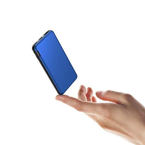 ButcHer Batterie Externe 20000mAh, Power Bank avec 2 Entrées (USB-C+Micro) Compatible avec Tous Les Téléphones et Tablettes(Rouge)