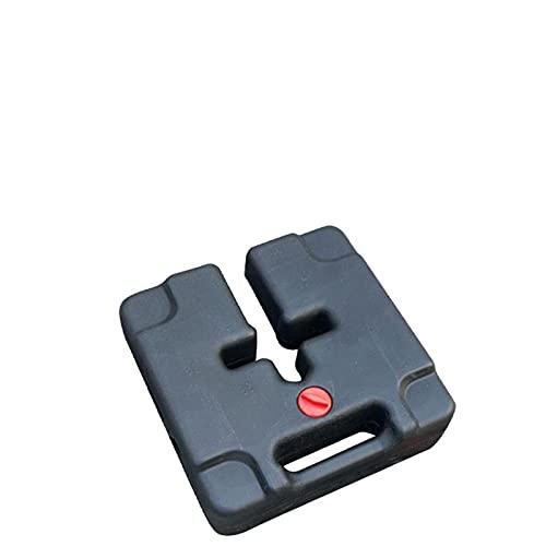 Soporte para sombrilla y bases portátil con base de agua, para el mercado, para exteriores, resistente y estable
