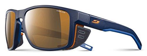 Julbo Shield Sonnenbrille Unisex Erwachsene one size Blau / Blau / Orange