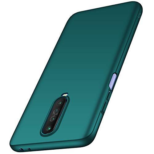 anccer Funda Xiaomi Redmi K30 5G, Ultra Slim Anti-Rasguño y Resistente Huellas Dactilares Totalmente Protectora Caso de Duro Cover Case para Redmi K30 5G (Verde)