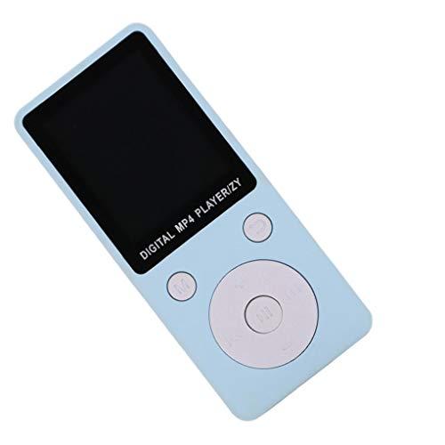 rongweiwang Reproductor de MP3 de 3,5 mm para Auriculares Puerto de Radio MP3 MP4 Player Ebook FM o grabación de música Reproducción del Dispositivo