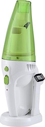 SILVANO WDAP-441 Aspirador portátil de mano | Inalámbrico | Recargable | Válido para para seco y mojado (Verde)
