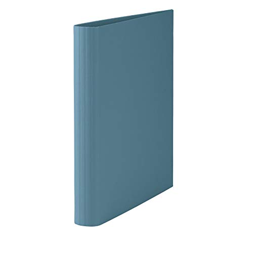 Rössler 1316452150 - S.O.H.O. Ringbuch DIN A4, 2, 5 cm Füllhöhe, 2-Ring-Mechanik, Denim
