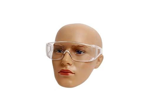 2 Óculos Proteção Sobrepor Ao De Grau Uso Hospitalar Saúde - Proteloja EPI's