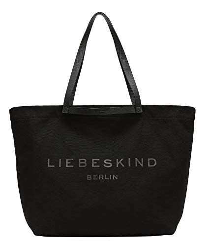 Liebeskind Berlin Damen Aurora SHOPPER LARGE, black-9999