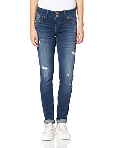 LTB Jeans Molly M Jeans, JIA Wash 53395, 24W x 30L para Mujer