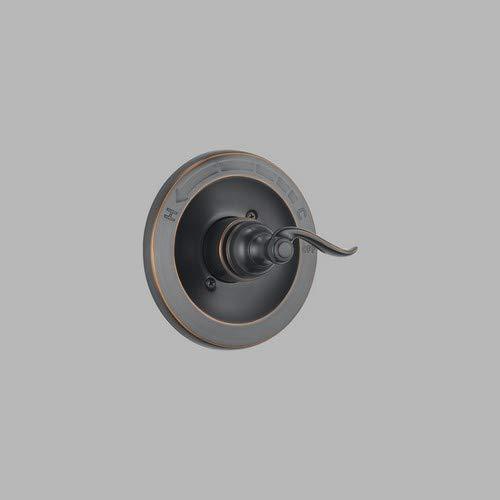 Delta Faucet Windemere 14 Series Single-Function Shower Handle Valve Trim Kit, Oil Rubbed Bronze BT14096-OB (Valve Not Included)