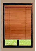 Home Decorators Collection Golden Oak Basswood Blind 2 in. Slats 35*72