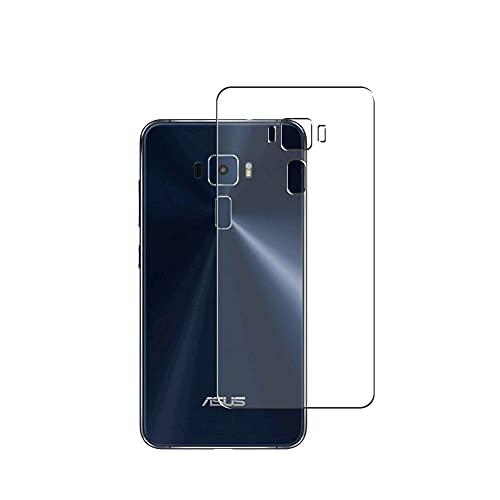 VacFun 2 Piezas Protector de pantalla Posterior, compatible con ASUS ZenFone 3 5.2inch ZE520KL ZenFone3, Película de Trasera de TPU Skin Piel