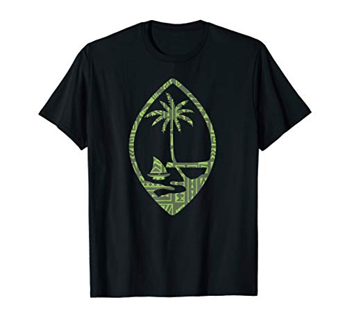 Guam Seal With A Cool Polynesian design T-Shirt