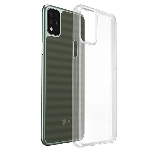 ROVLAK Hülle für LG K42 Hülle Silikon Superdünne Leichte Handyhuelle Kristallklare Tasche Stoßfeste Kratzfeste Transparente Schutzhuelle TPU Handytasche für LG K42