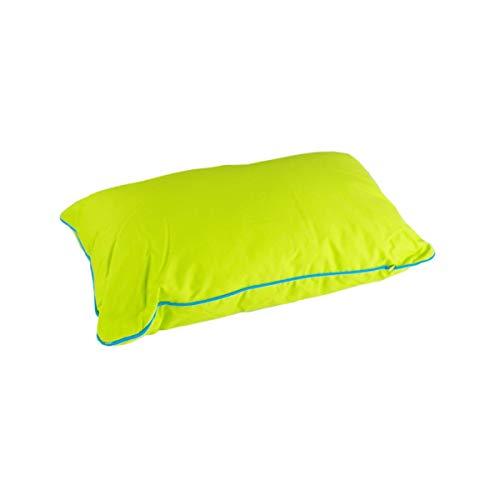 n-f GmbH Dekokissen 30x50cm pink, türkis, grün oder grau mit Paspel Kissen Nackenkissen, Farbe:grün