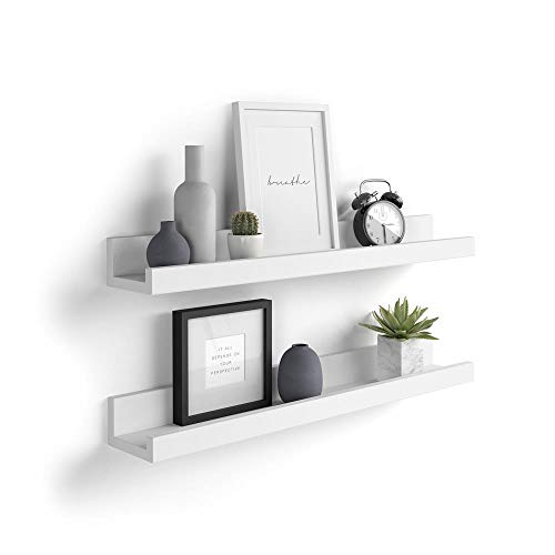 Mobili Fiver, Par de estantes para Cuadros, Modelo First, 60
