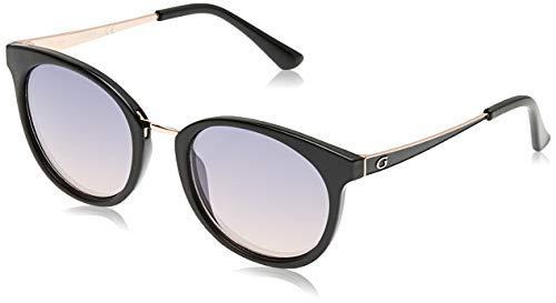 Guess Unisex-Erwachsene GU7459 05Z 52 Sonnenbrille, Schwarz (Nero)