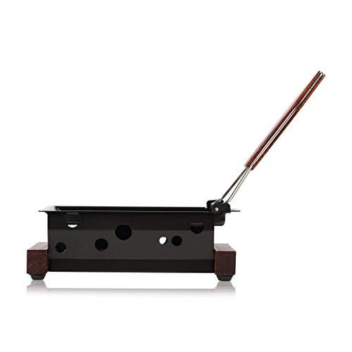 Boska Partyclette® ToGo Vienna/Raclette-Set/mit praktischem Spachtel/für Raclette-Käse/Holz
